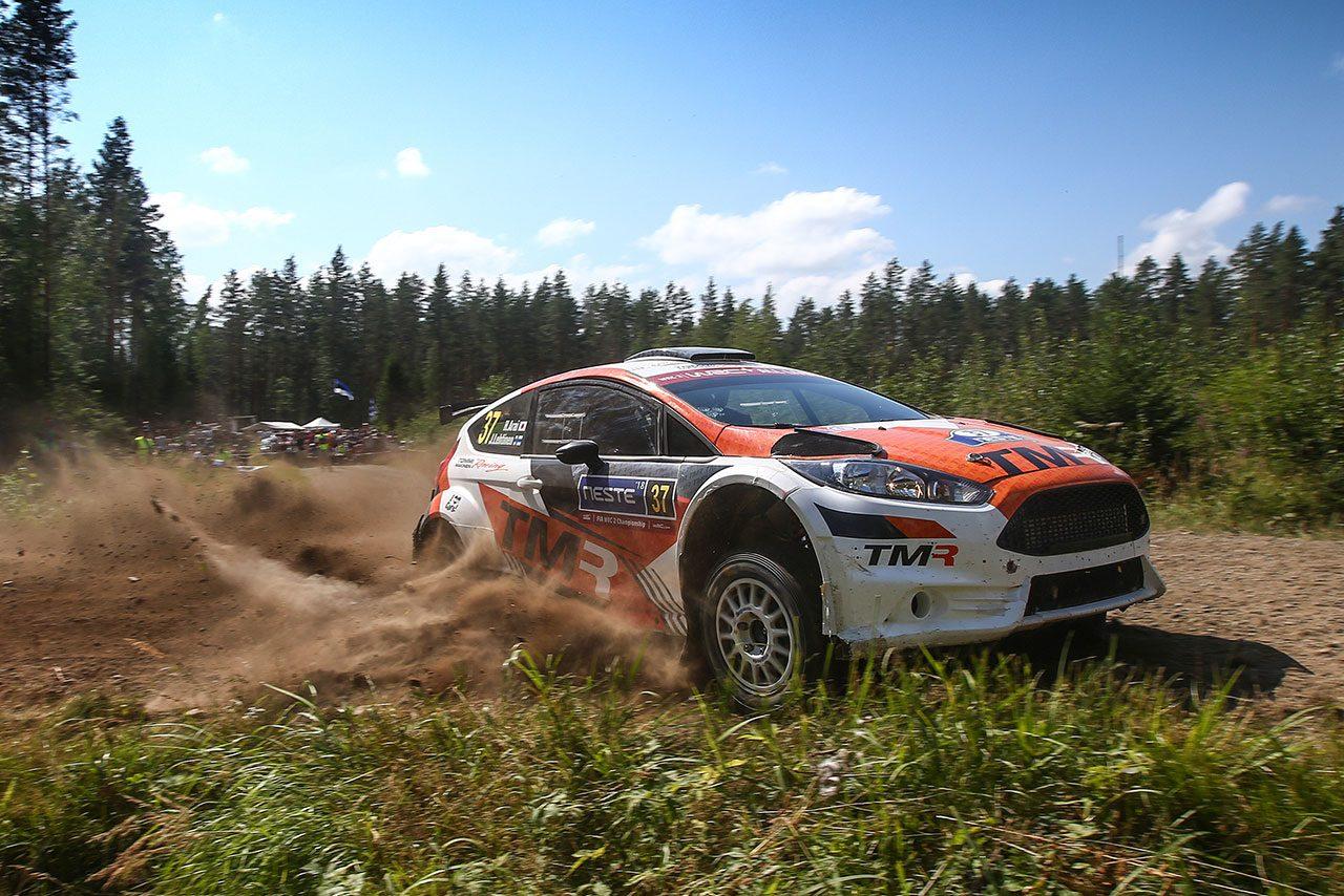 トヨタ若手育成の新井、勝田、足立はWRCフィンランドで苦戦。「期待していた結果は得られず」