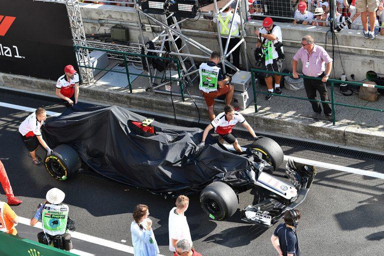 F1   ルクレール「スタート直後に、他チームの2台に挟まれてしまった」:ザウバー F1ハンガリーGP日曜