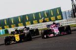 F1 | オコン「ルノー勢とのバトルは楽しかったけど、全体的にペースが良くなかった」:フォース・インディア F1ハンガリーGP日曜
