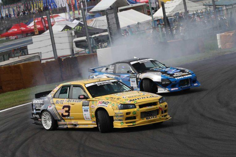 国内レース他 | PACIFIC RACING TEAM DUNLOP 2018年D1グランプリ第5戦筑波 レースレポート