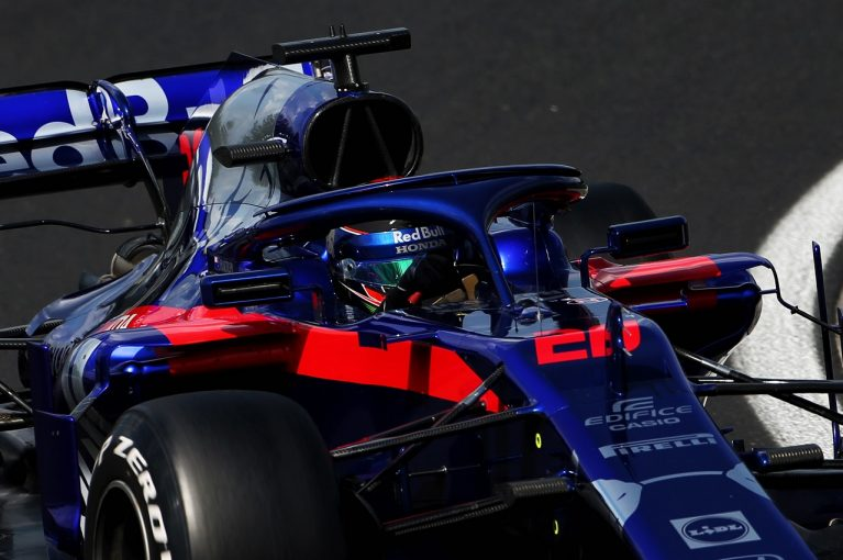 F1   トロロッソ・ホンダのハートレー、最多126周を走りこみ3位「興味深いテストアイテムを試した。全体的にポジティブ」:F1テスト デイ1
