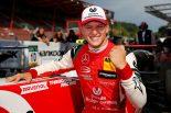 スパ・フランコルシャンでのレース3を制し、シリーズ初優勝を飾ったミック・シューマッハー(プレマ・セオドール・レーシング)