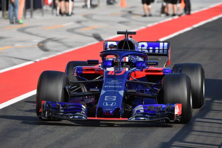 F1 | ホンダ田辺TD「2日間で2186kmを走りこんだ。ここで得られたデータが今後の前進につながる」:F1テスト デイ2