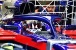 F1 | ゲラエルがトロロッソ・ホンダで2日間走行「エアロテストに集中。後半戦のパフォーマンス向上に貢献できれば」:F1テスト デイ2