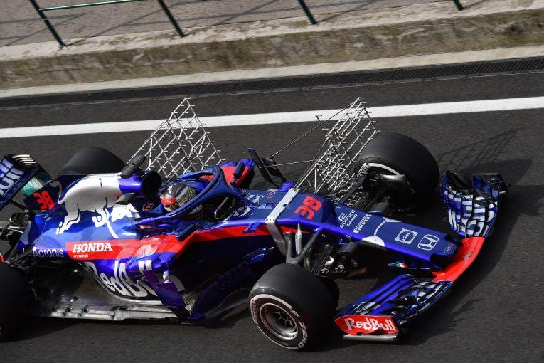 F1 | トロロッソ「さらなるポイント獲得を目標に、空力や新パーツのテストに取り組んだ」:F1テスト デイ2
