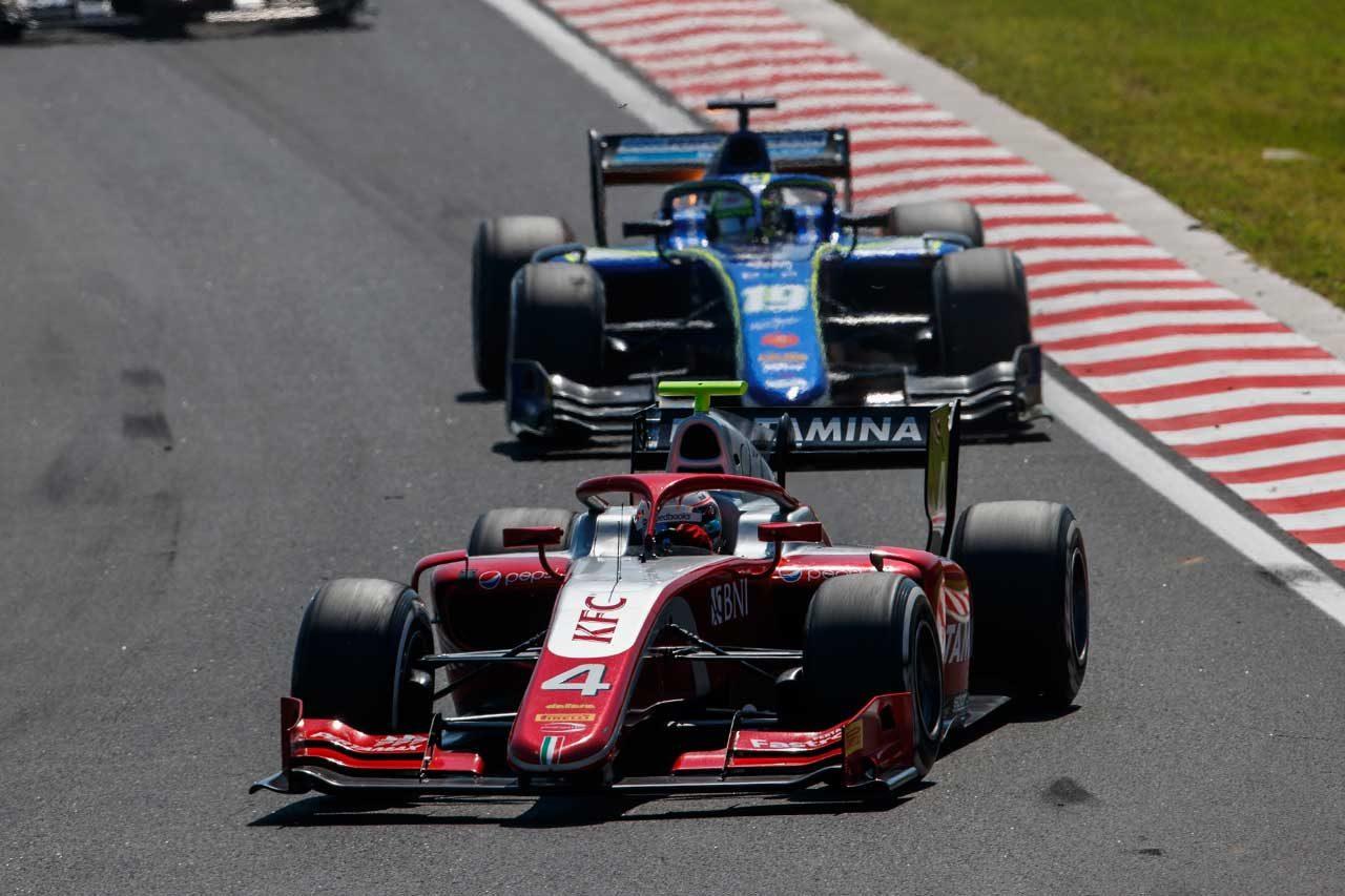 プルタミナ・プレマ・セオドール・レーシング FIA F2第8戦ハンガリー レースレポート