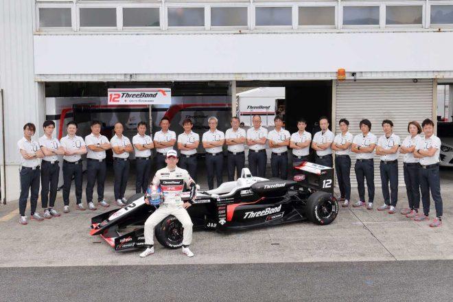 2018年はThreeBond Racingから全日本F3に参戦した笹原右京