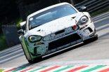 海外レース他 | 新型GT4マシンか? 『アバルト124』レーシングプロトのスパイショットが公開
