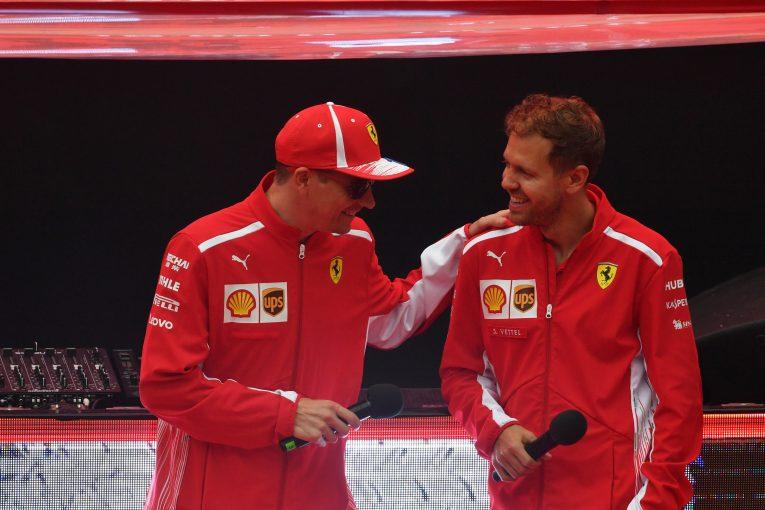 F1 | ライコネン、ベッテルとの関係は「政治的なものではなく友情」と語り、フェラーリF1残留を望む
