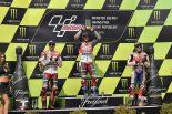 MotoGP   MotoGP:ドヴィツィオーゾ「ホルヘとマルクも限界だったと思う」/チェコGP決勝トップ3コメント