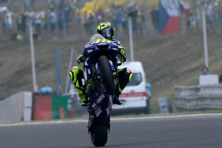 MotoGP   MotoGP:ロッシ、チェコGPで中盤にトップを走行するも表彰台逃す。「充分な速さがなかった」