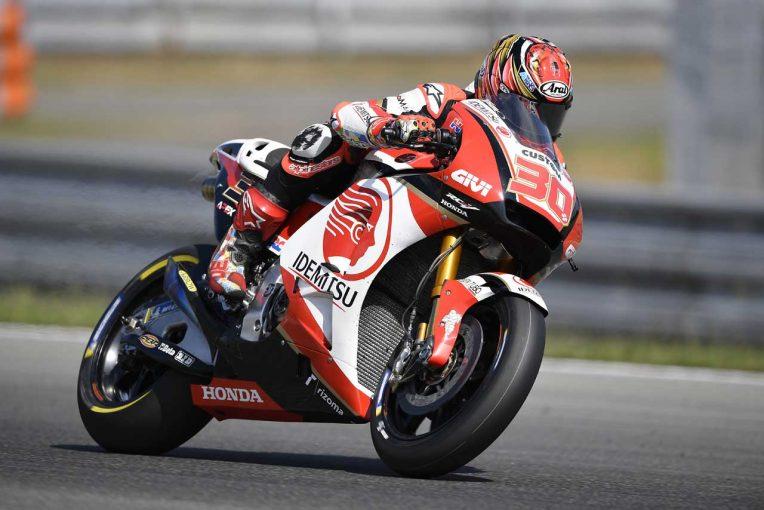MotoGP | MotoGPブルノテスト、中上はセッティング違いの2台を比較テスト。「内容の濃いテストになった」