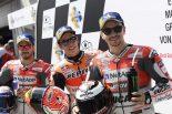 MotoGP | MotoGP:マルケス、ウオームアップは「タイヤ選択にとって重要」/オーストリアGP予選トップ3コメント