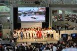 スーパーGT | 今年もレクサスドライバーがお台場に集結。『LGDA夏祭り2018』に多くのファンが詰めかける