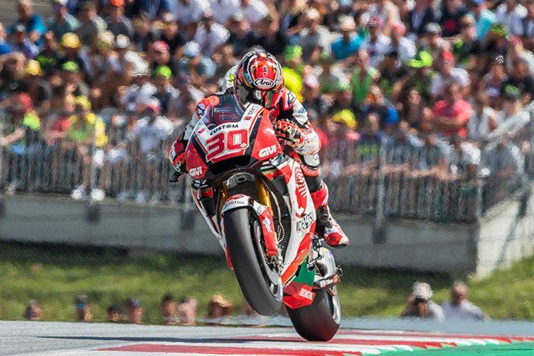MotoGP   オーストリアGPでMotoGPルーキー勢最上位フィニッシュの中上。「本来の走りを取り戻せてきた」