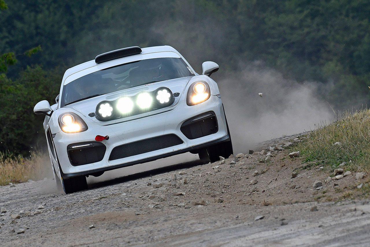 WRC第9戦ドイツにラリー仕様のケイマンGT4が登場。将来的な販売も見据えたコンセプトモデル