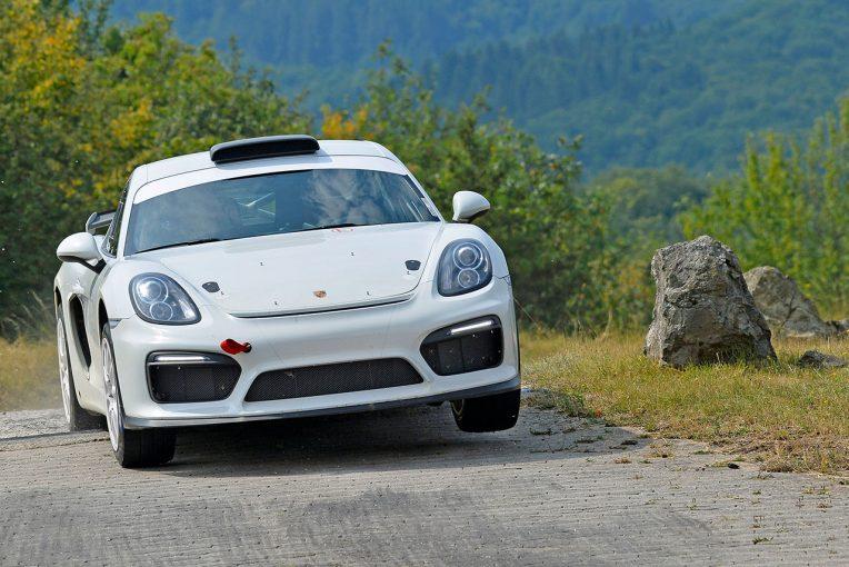 ラリー/WRC | WRC第9戦ドイツにラリー仕様のケイマンGT4が登場。将来的な販売も見据えたコンセプトモデル