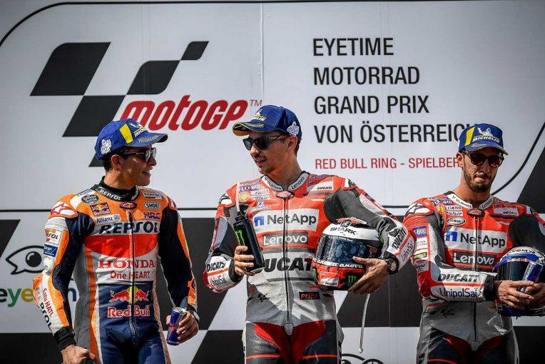 MotoGP | MotoGP第11戦:マルケス、終盤に向けハードタイヤを選択するも「ロレンソを抑えられなかった」