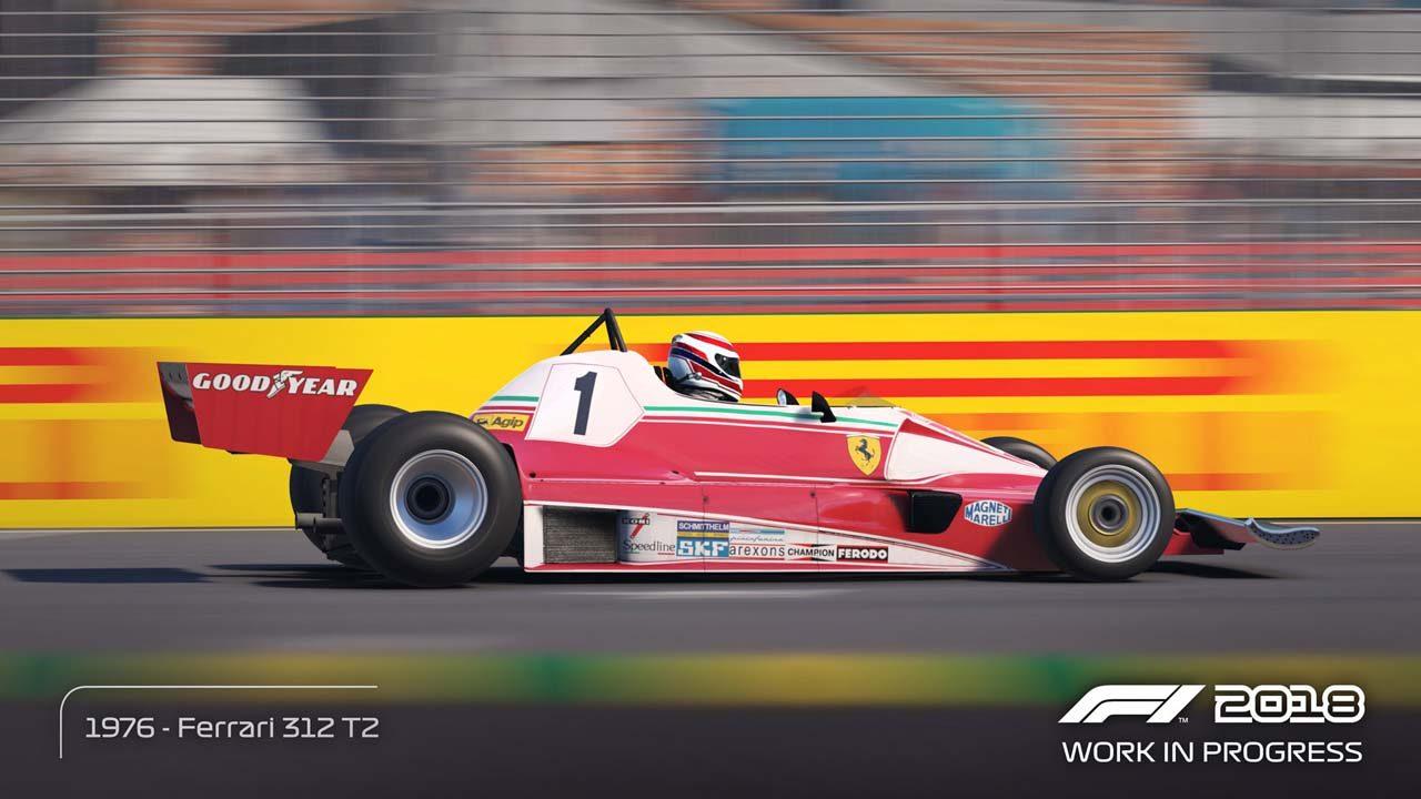 9月20日発売のF1公式ゲーム『F1 2018』、収録されるクラシックカー全20台が公開