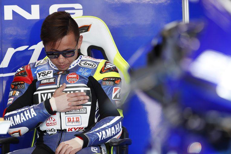 MotoGP   鈴鹿8耐で負傷のヤマハ中須賀、怪我の影響残してJSB1000もてぎ戦へ。「決勝までになんとかしたい」
