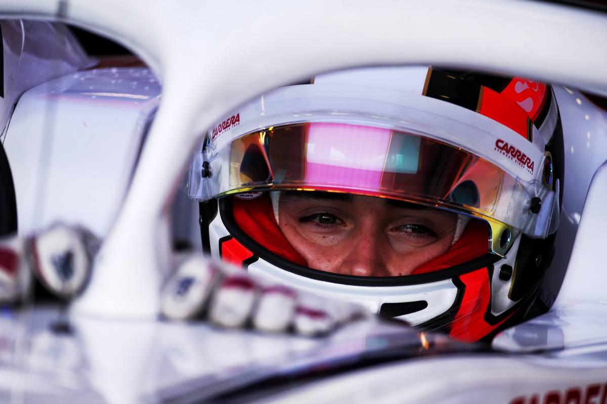 2018年F1オーストラリアGP ザウバー シャルル・ルクレール