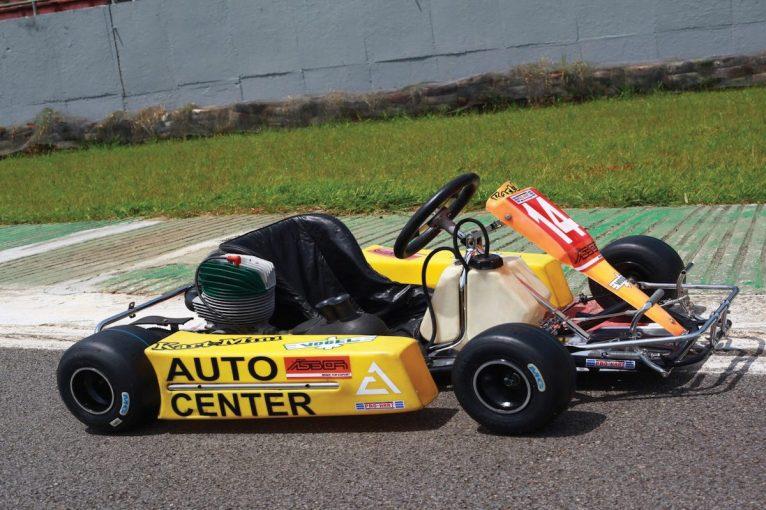 F1 | イモラでの悲劇的な死を迎える6週間前に、アイルトン・セナが楽しんだカートがオークションに出品