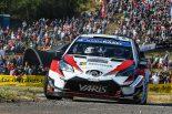 ラリー/WRC | WRCドイチェランド:タナクがリード拡大でトヨタ連勝に王手。ラトバラも表彰台圏内の走り
