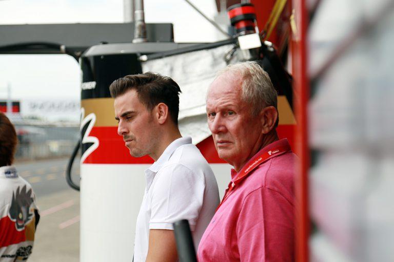 F1   レッドブルF1のヘルムート・マルコがもてぎを電撃訪問「2019年のスーパーフォーミュラのドライバーをチョイスしにきた」