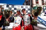 WRC第9戦ドイチェランドを制したオット・タナクとマルティン・ヤルベオヤ