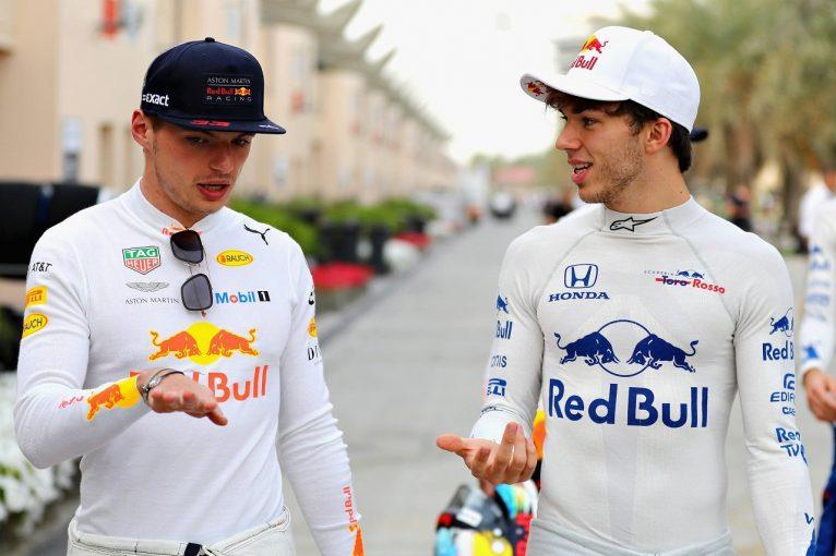 F1 | ガスリーのレッドブル・ホンダ昇格が正式発表。2019年はフェルスタッペンとの若手ペアに