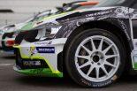 ラリー/WRC | 世界ラリークロス:シュコダ・ファビア、2019年デビューへ。電動化は2021年に延期