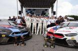 BMW M8 GTEの初優勝を1-3フィニッシュを飾ったBMWチームRLL