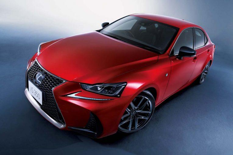 クルマ | レクサス、国内50万台販売を記念しGS、IS、LXなど6車種にブラック内外装の特別仕様車を設定
