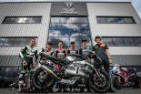 MotoGP | Moto2、Moto3ライダーが2019年のMoto2エンジンサプライヤー、トライアンフを訪問