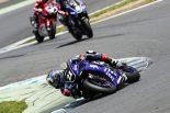 MotoGP | 【崖っぷち折原コラム】脱臼から1カ月で横綱相撲。中須賀克行の涙に見えたヤマハファクトリーライダーとしての矜持