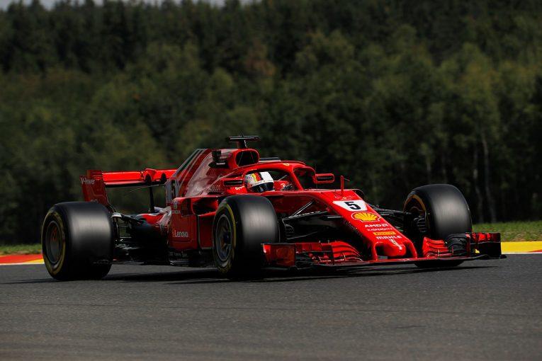 F1 | F1ベルギーGP FP1:ベッテルがトップも上位チームは三つ巴、トロロッソ・ホンダのガスリーは11番手