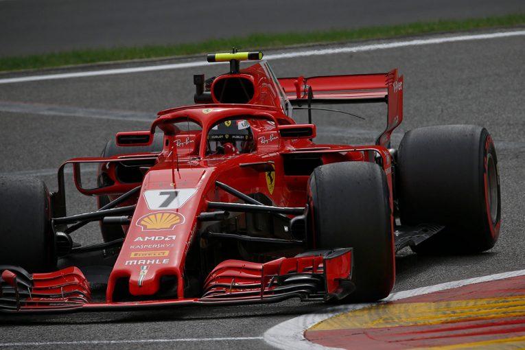 F1 | F1ベルギーGP FP2:初日トップタイムはライコネン、トロロッソ・ホンダ勢は15、17番手