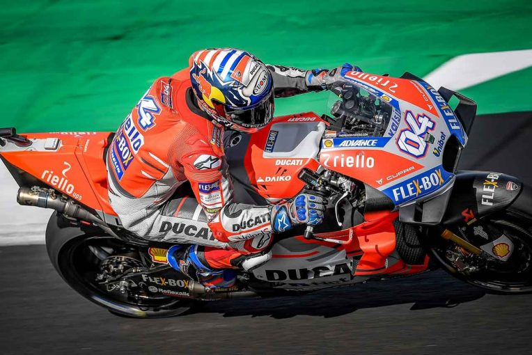 MotoGP | MotoGPイギリスGP初日:ドヴィツィオーゾが僅差でトップタイム。総合11番手の中上はQ2進出なるか?
