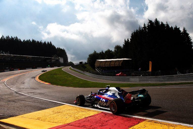 F1   トロロッソ「好調に思えたが、FP2で競争力が低下。予選までに原因を究明する」:F1ベルギーGP金曜