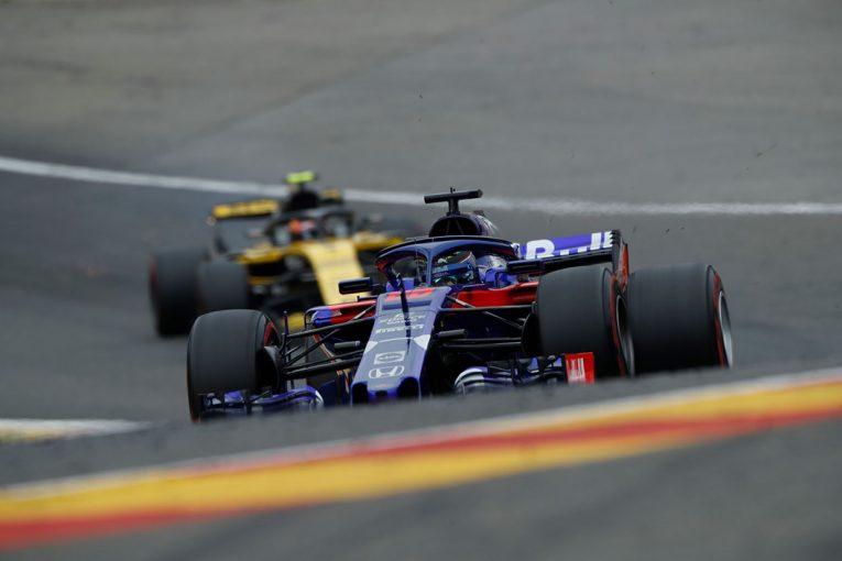 F1 | トロロッソ・ホンダF1密着:トップ10圏内までコンマ4秒差、予選に向けての挽回は十分可能