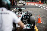 F1 | ハミルトン「アップグレード版パワーユニットを搭載。フェラーリとの戦いが楽しみ」:F1ベルギーGP金曜