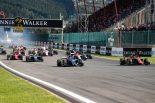 海外レース他 | FIA F2第9戦ベルギー レース1:福住は炎上リタイア。デ・フリースが盤石の走りで3勝目