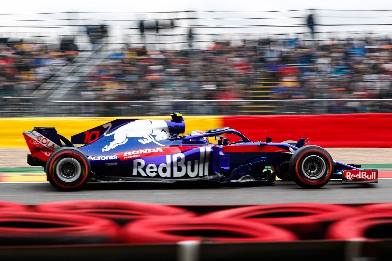 2018年F1第13戦ベルギーGP ピエール・ガスリー(トロロッソ・ホンダ)