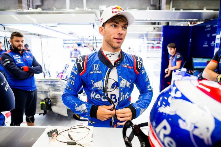 F1   ガスリー、10番グリッドからスタート。「予想よりずっといい結果。さらに上を目指して攻めていく」:トロロッソ・ホンダ F1ベルギーGP土曜