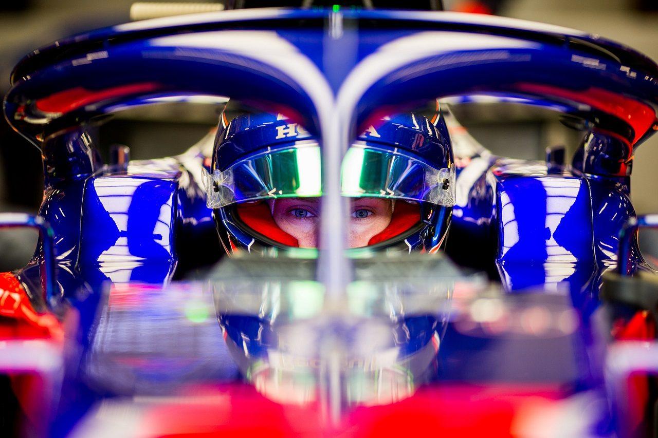 2018年F1第13戦ベルギーGP ブレンドン・ハートレー(トロロッソ・ホンダ)