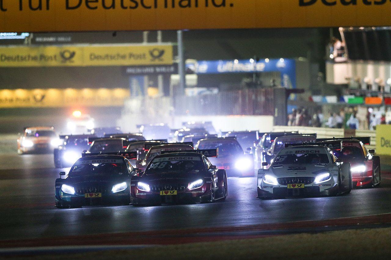DTM第13戦ミサノ:初のナイトレースはディ・レスタが勝利。ランクトップのパフェットと1pt差に