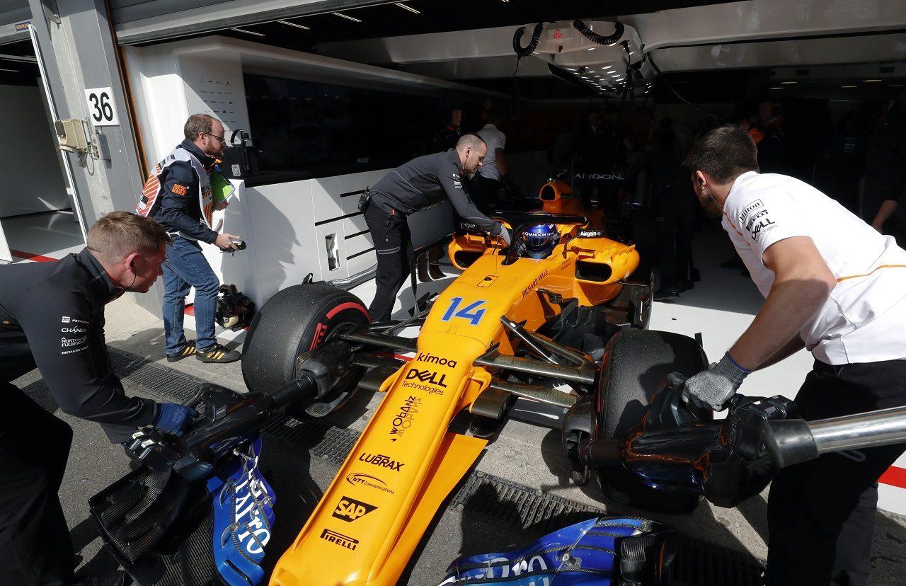 2018年F1第13戦ベルギーGP フェルナンド・アロンソ(マクラーレン)