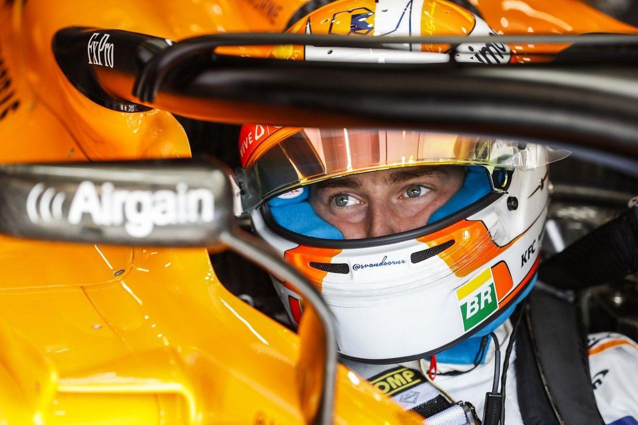 2018年F1第13戦ベルギーGP ストフェル・バンドーン(マクラーレン)