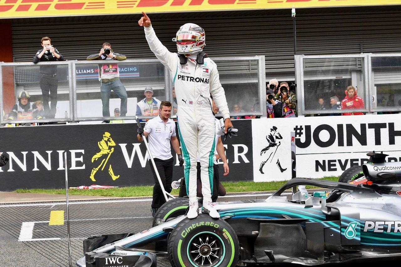 2018年F1第13戦ベルギーGP ルイス・ハミルトン(メルセデス)がポールポジションを獲得