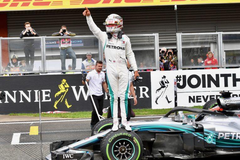 F1 | ハミルトン、スパ最多となる5度目のポール「雨が降らなかったとしてもフェラーリに勝った」:F1ベルギーGP土曜
